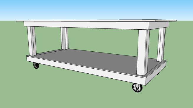 Rolling Shop Table/Work Bench