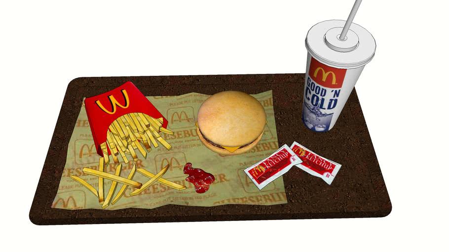 麥當勞  McDonald's  Beef cheeseburger  牛肉芝士堡