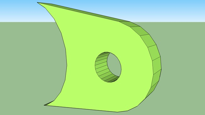 Spaceframe Round Flange