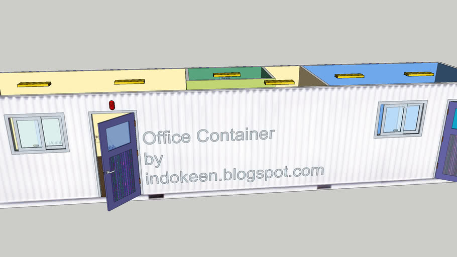Office Container with Meeting Room