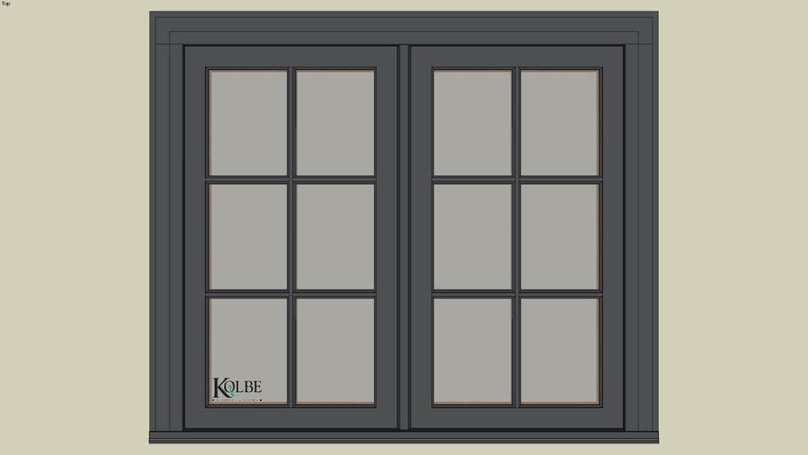 """Kolbe Ultra Casement KUW236 (F.S. 4'-0"""" x 3'-6"""" R.O. 4'-0 1/2"""" x 3'-6 1/2"""")"""