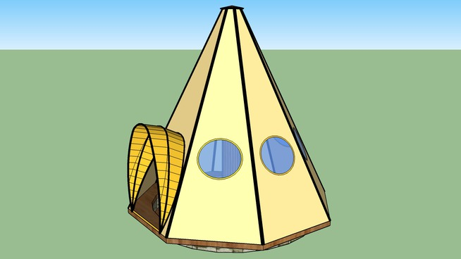Umbrella Teepee