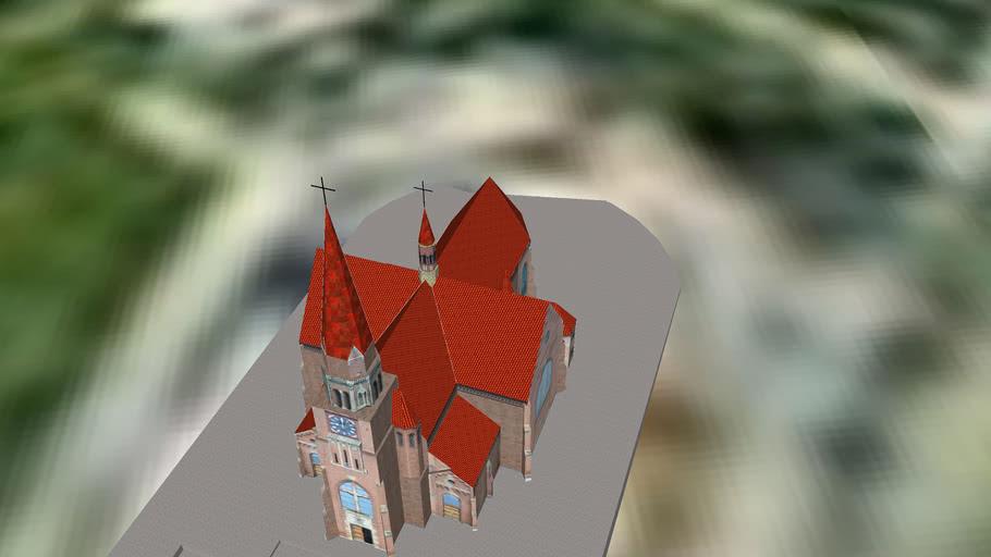 """Biserica romano-catolică """" Adormirea Maicii Domnului"""" din Cacica"""