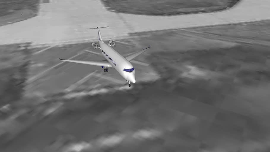 Ferihegy taking off