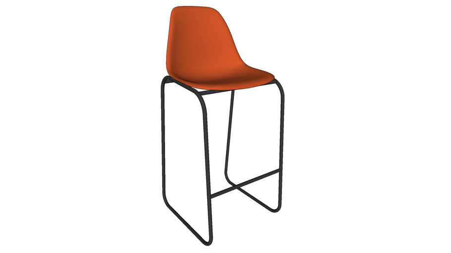 Eames style stool