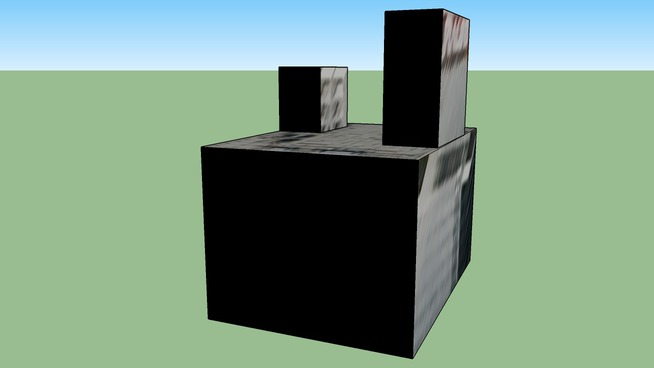 〒060-0061的建筑模型
