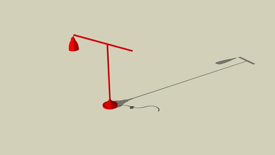 BAROMETER Lampada da terra/ lettura IKEA