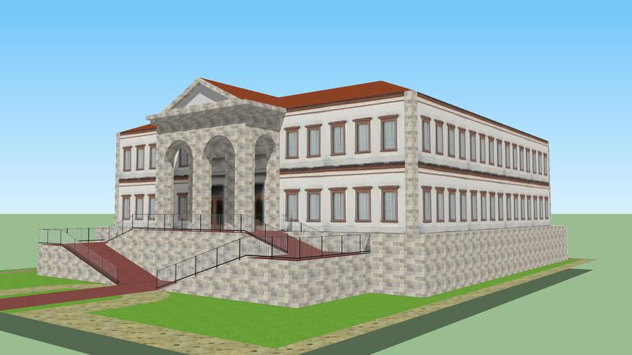 Portuguese Colonial Building 2