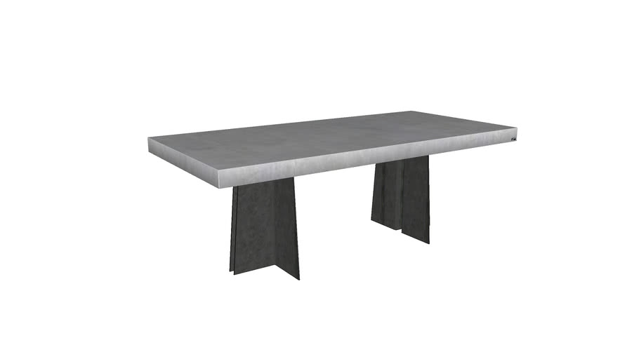 Archa Concrete Dining Table