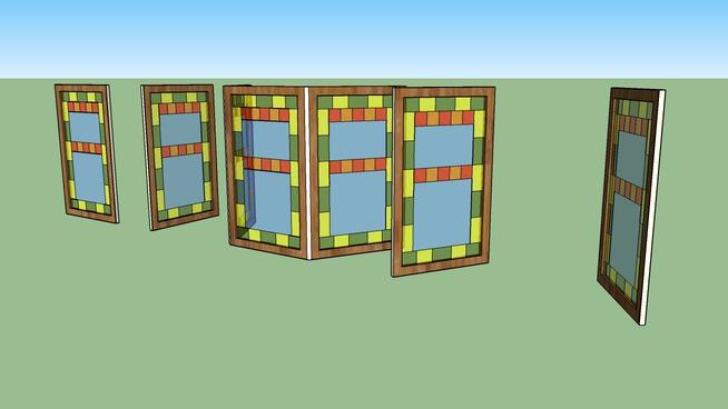 Assortment of windows