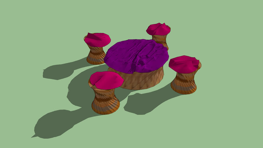table and sets