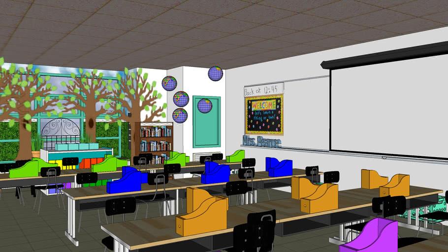 Virtual 3rd grade Classroom