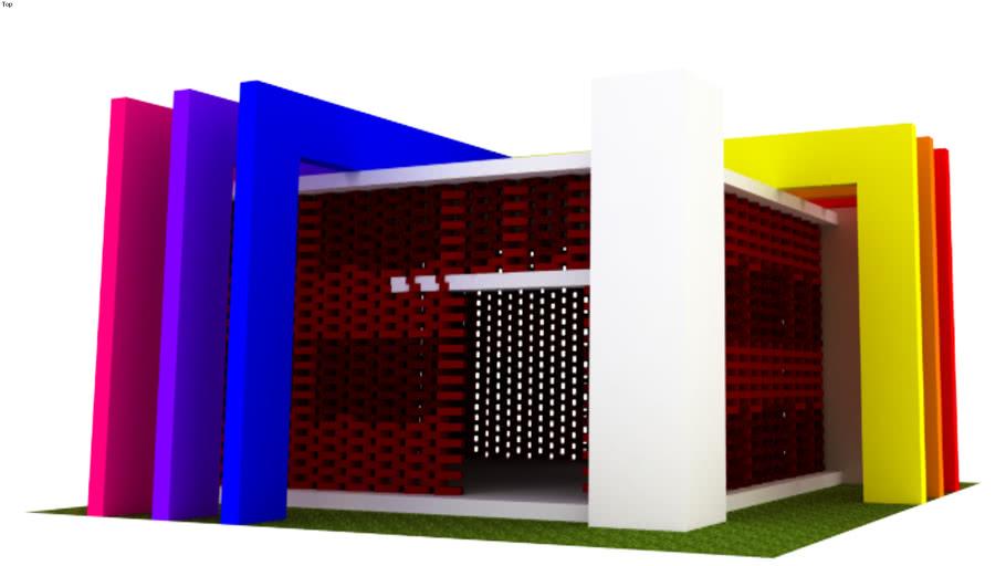 exhibition, pavilion