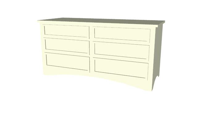 Dressers Low Poly