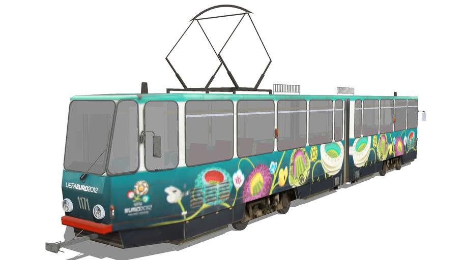 Tram Lviv Evro 2012