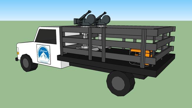 movie filming truck