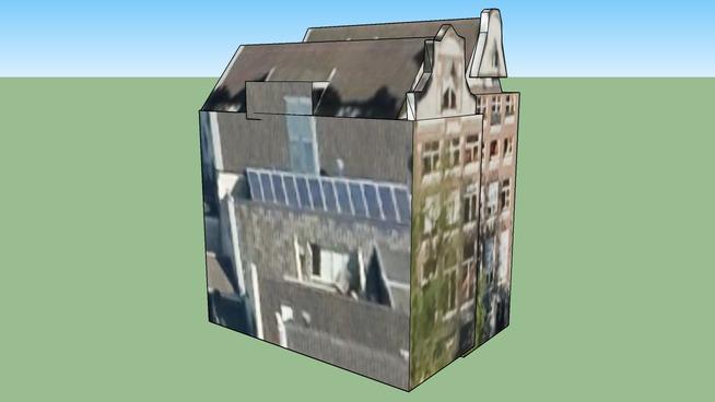 Gebouw in 1016ED Amsterdam, Nederland