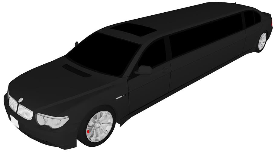 BMW 760i limo