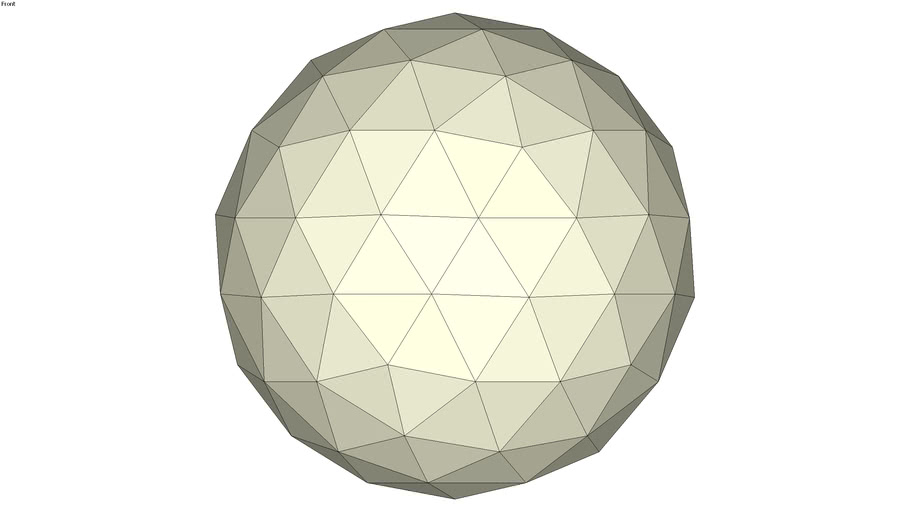 Geodesic sphere 02