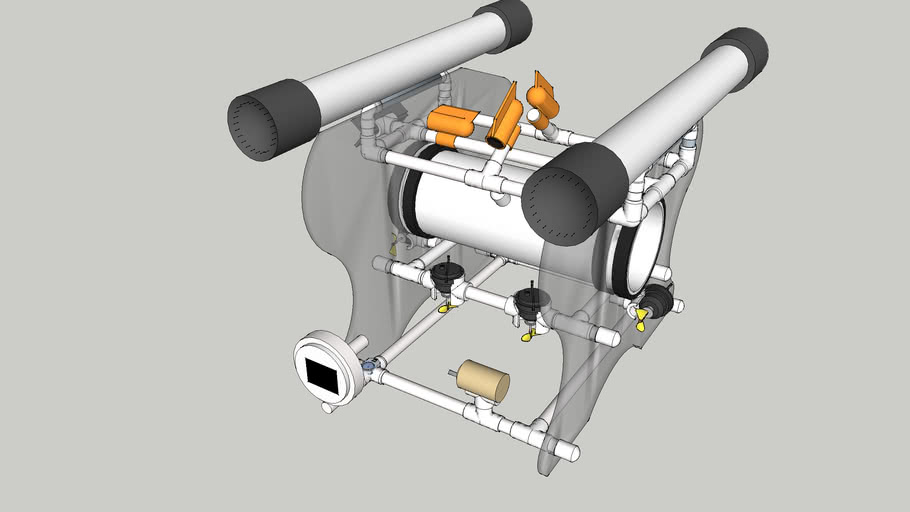 Subermsible Systems Underwater Robot