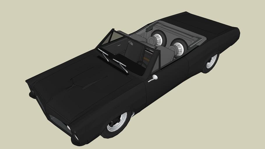 Tuned Pontiac GTO convertible