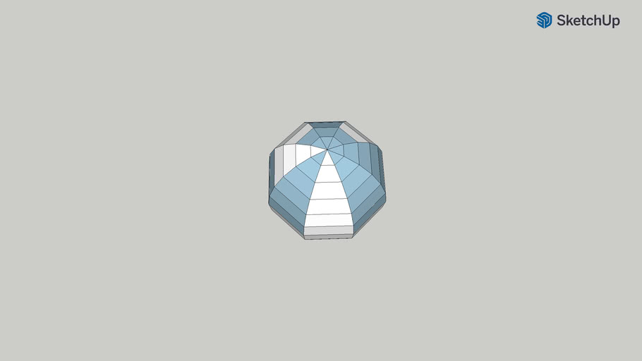 low poly sphere