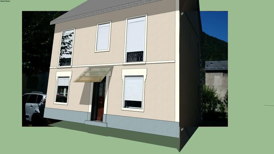 façade CALMA simulation teinte