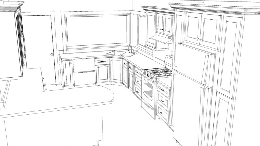 Custom Kitchen Layout - by DMDesigns