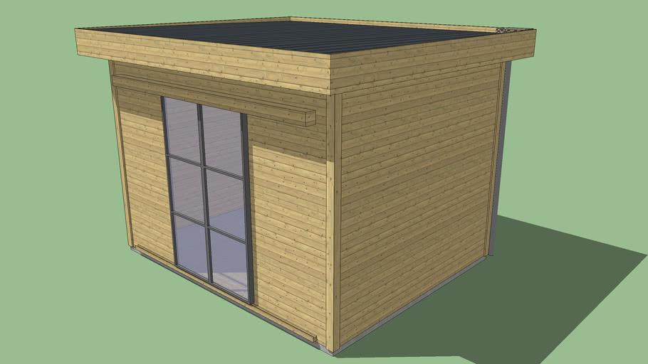 Abri de jardin bois | 3D Warehouse