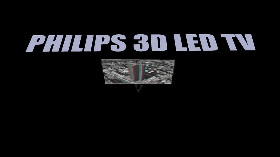 PHILIPS 3D LED TV