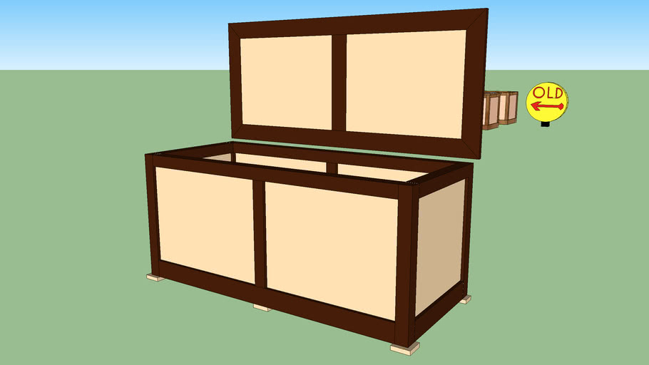 Maple and Walnut Hope Chest