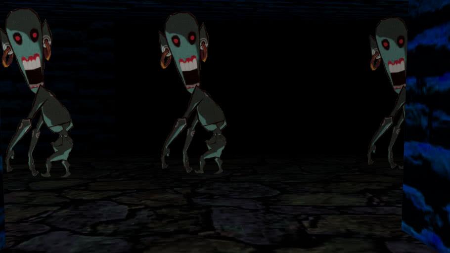 Redead Temple (Never Released Zelda Level!)