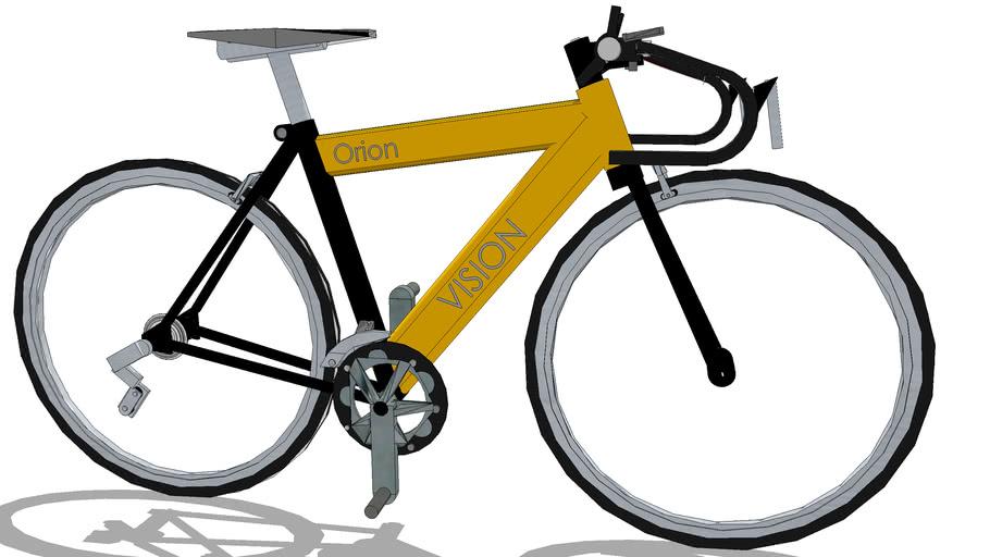 Final Road Bike rendering