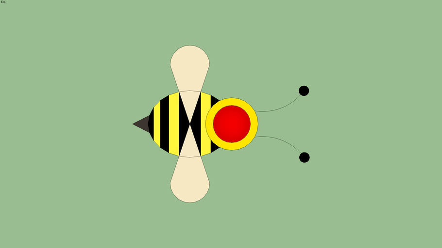 Button Style: Bee
