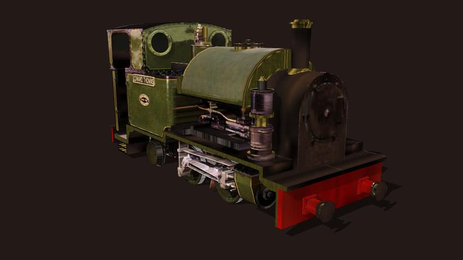 """""""- Locomotives - by Mylyn  N/Gauge""""..""""Edward Thomas""""... Sidings junk."""