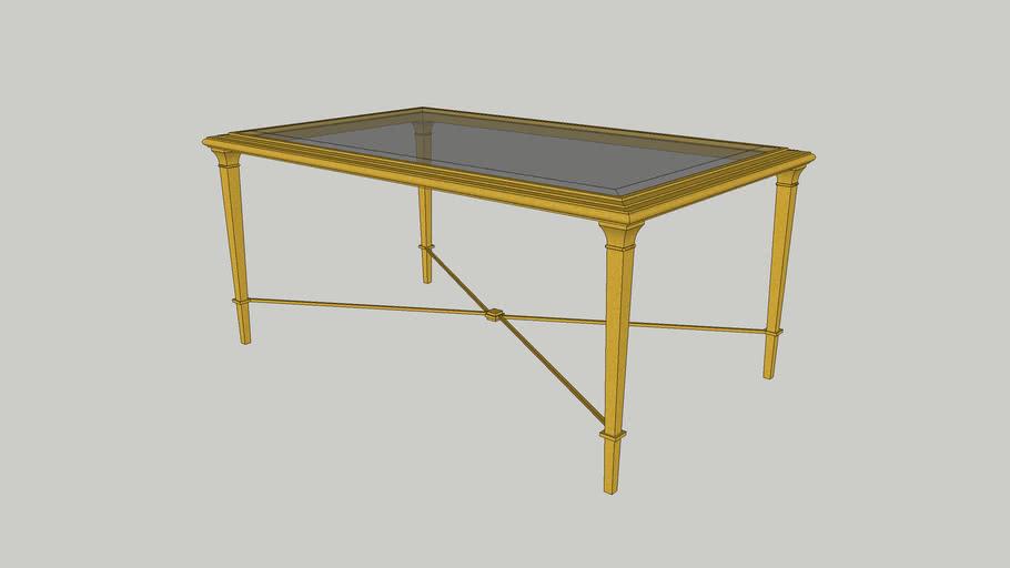 Bristol Coffee Table - Gold