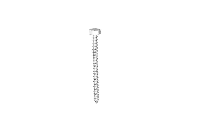 screw, wood, lag, 0.3125 x 4.5 in., McMaster-Carr 94048A274