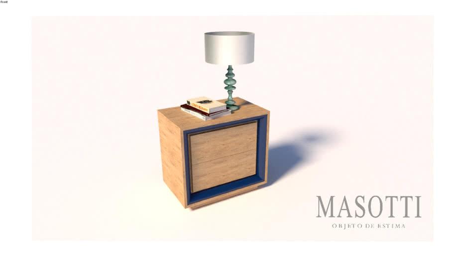 Mesa de Cabeceira Coleção Masotti MAS.323.2 F15