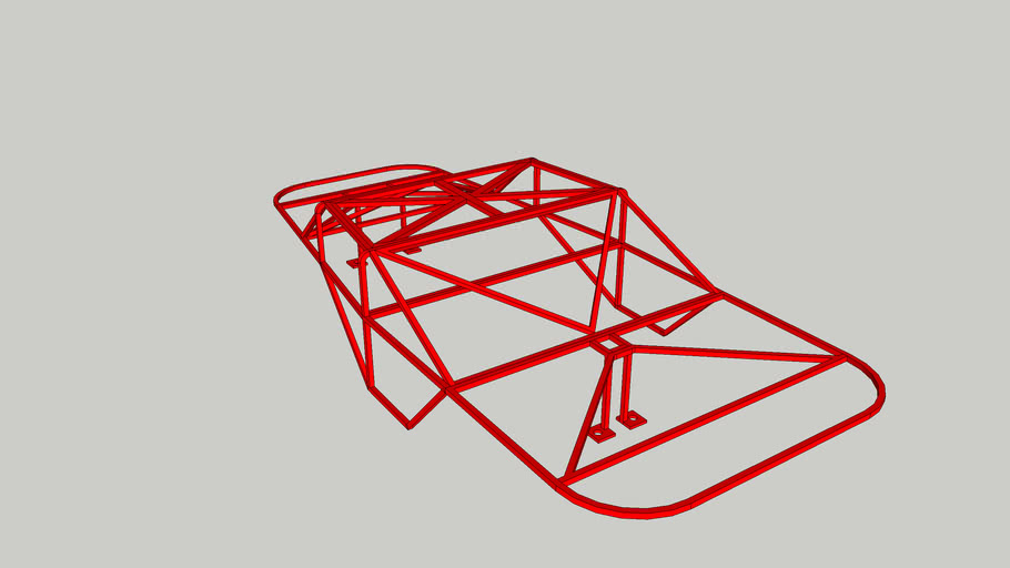 Roll Cage for AE SC10.3 RTR Truck