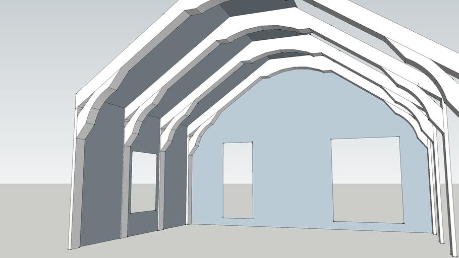 Rafters sketch 7