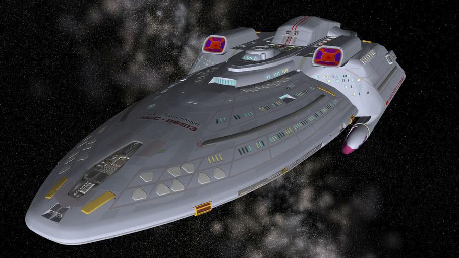 Quantum Class Starship - USS Swiftwind