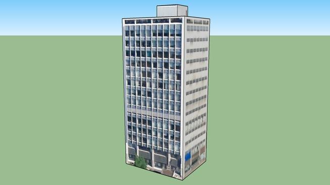 Budova na adrese Rotterdam, Nizozemsko