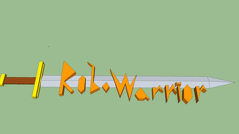 robowarrior logo#1