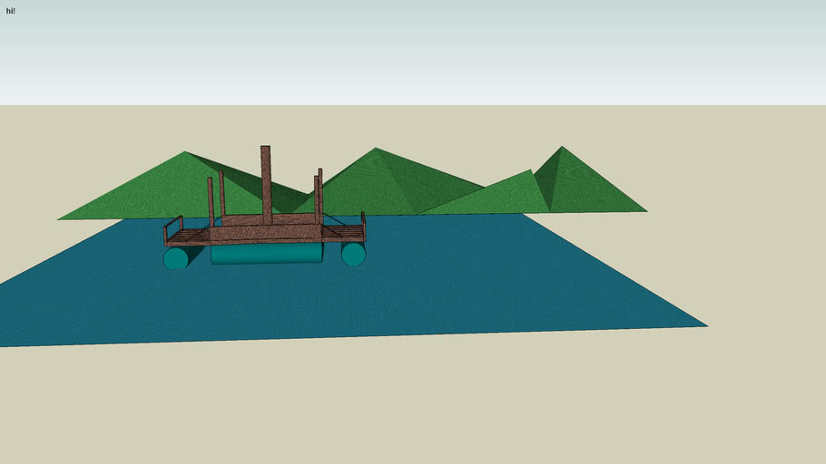 (sketchy physics)Sinking boat