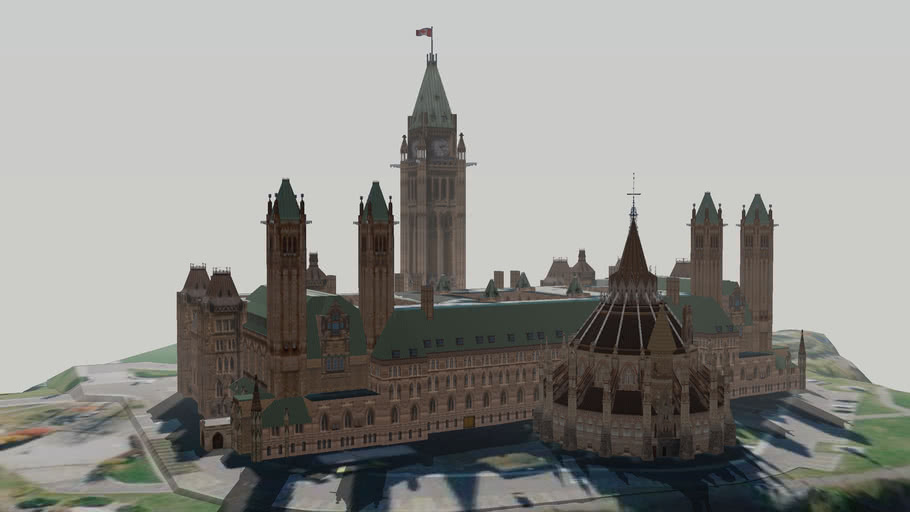 Parliament Hill - Centre Block