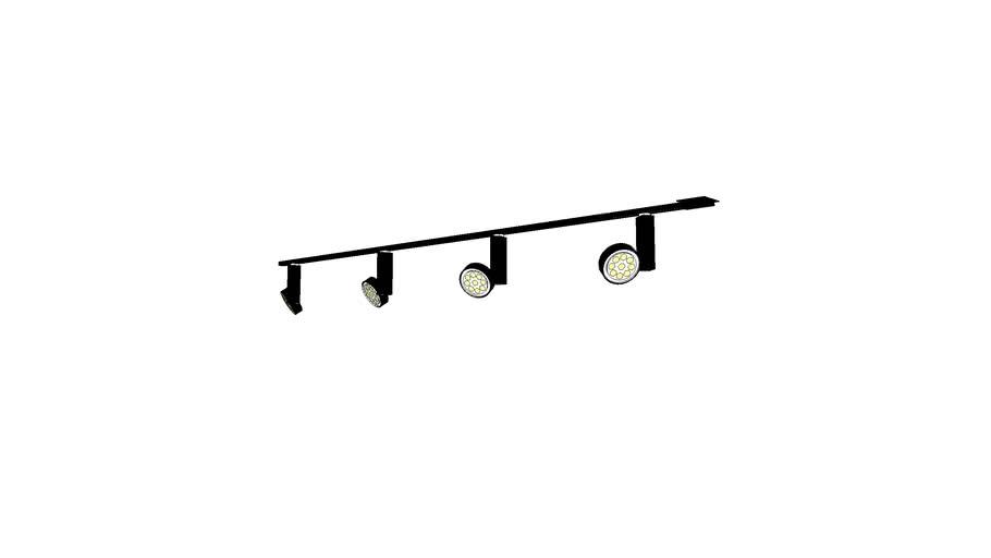 Lightolier Lytespan Track Lights