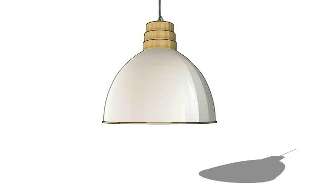 JERSEY Suspension en métal blanc et doré D.41cm REF 165289 PRIX 130.00€