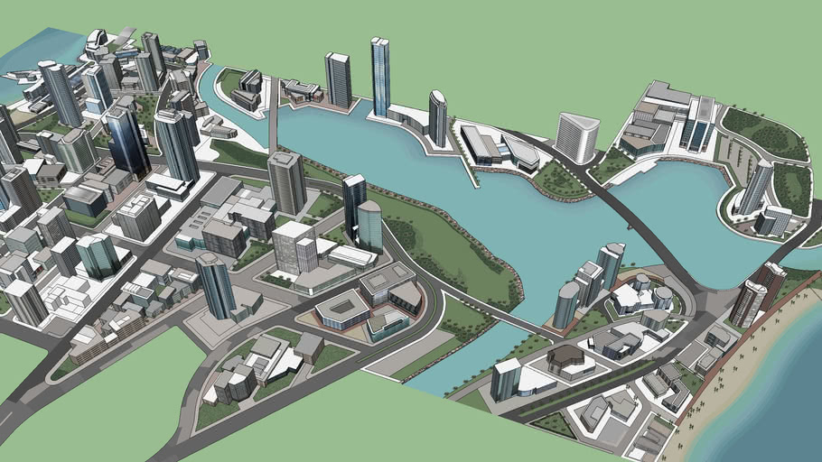 SketchUp's Largest City: Part 4