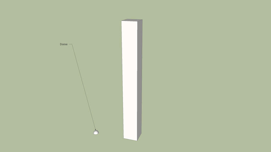 Tutorial for making a column with fluted corners