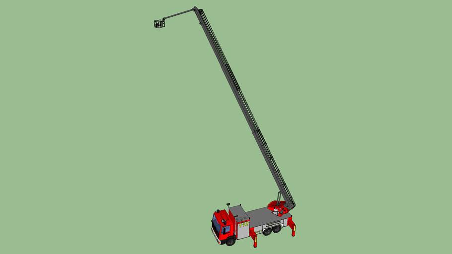 Aerial Ladder Platform / HAB 23/12 Working Position